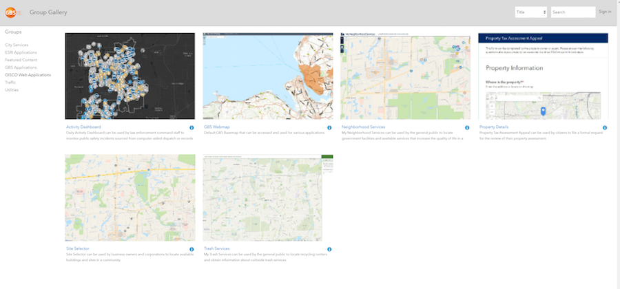 Waahi ArcGIS integrated Gallery